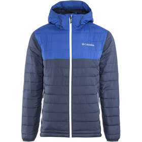 Columbia Powder Lite Hooded Jacket Men Collegiate Navy/Azul